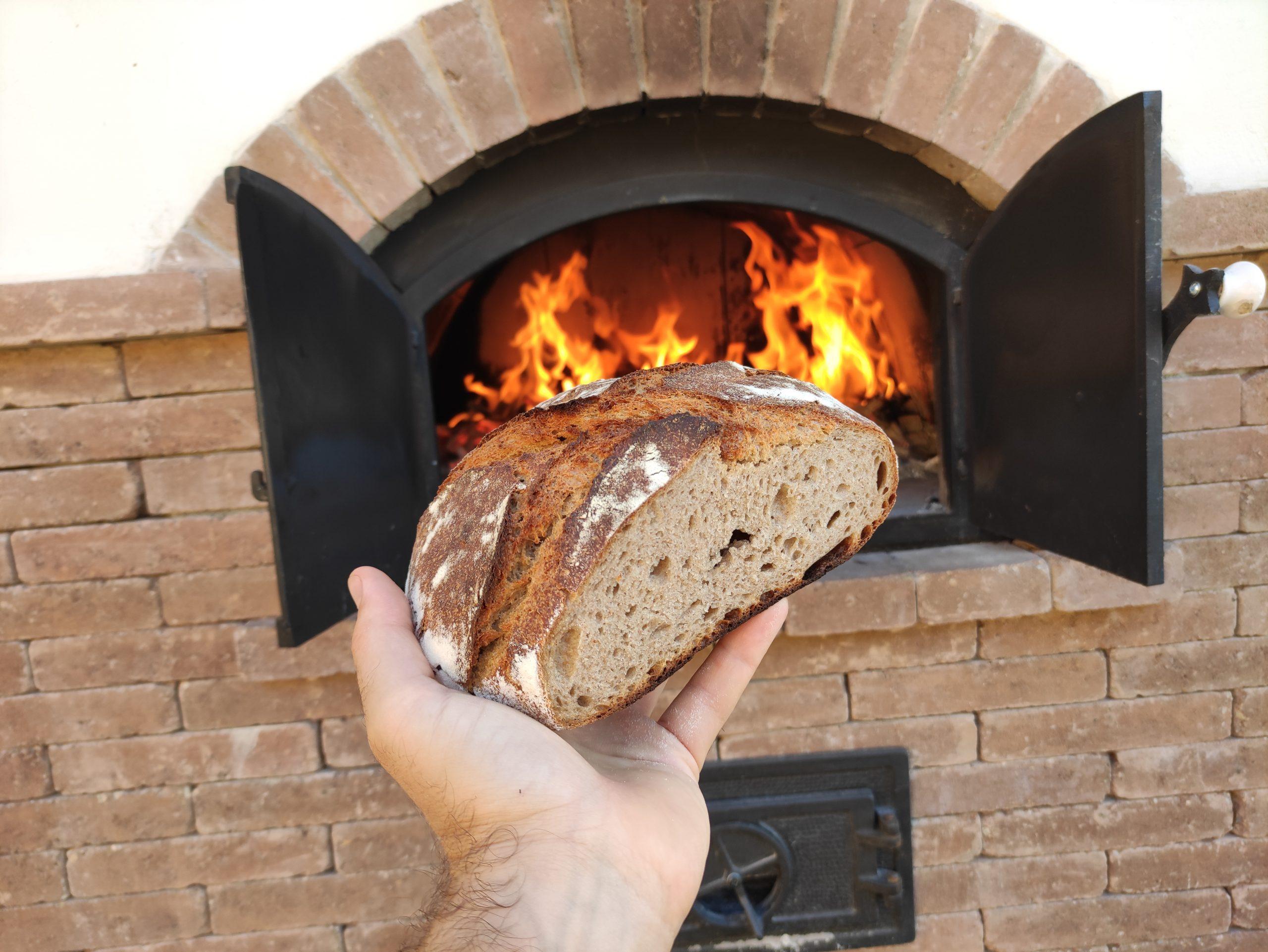 Rozsos kovászos kenyér