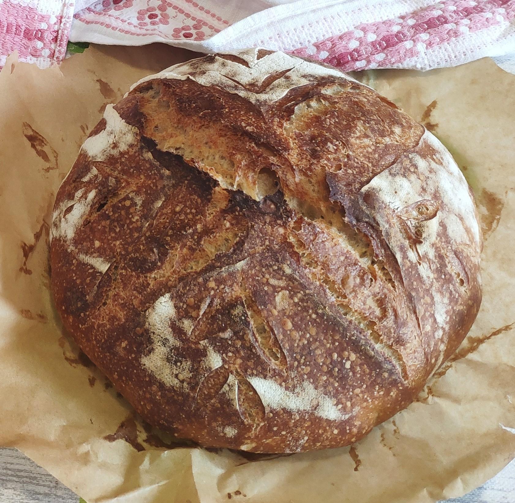 Kovászos fehér kenyér